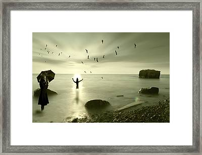 The Northern End Framed Print
