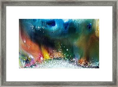The Northern Lights Of Andromeda Framed Print by Lee Pantas