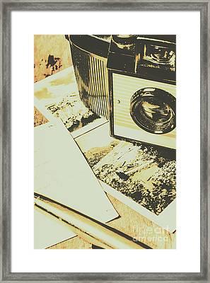 The Nostalgic Archive Framed Print