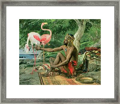 The Nubian Framed Print