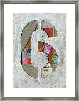 The Number 6 Framed Print