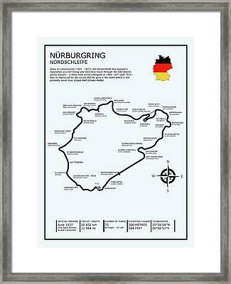 The Nurburgring Framed Print