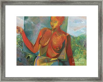 The Nurturer Framed Print