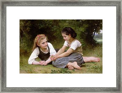 The Nut Gatherers Framed Print