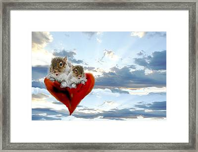 The Nuttings Are Coming Framed Print
