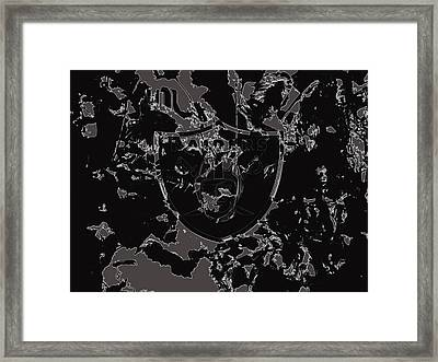 The Oakland Raiders 1c                                  Framed Print by Brian Reaves