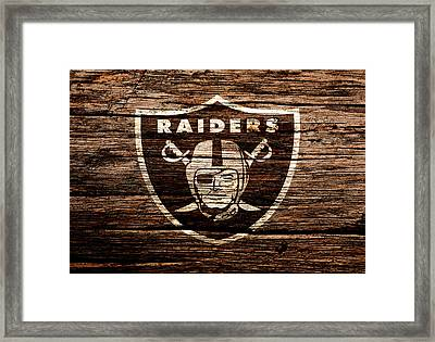 The Oakland Raiders 1e Framed Print by Brian Reaves