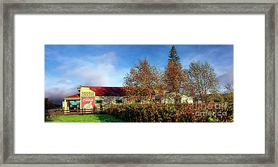 The Oakville Grocery Framed Print