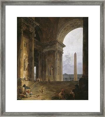 The Obelisk Framed Print