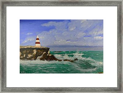 The Obelisk  Framed Print
