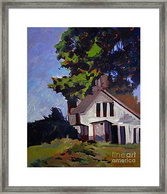 The Obfuscation Of Space Framed Print by Charlie Spear