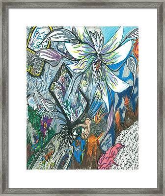 The Object Of Distraction Framed Print by Justin Chase