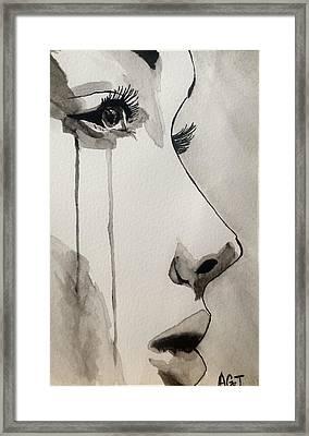 The Observer Framed Print by Ashton Jackson