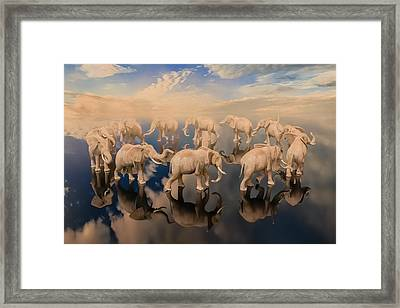 The Obsessive Thought Framed Print by Betsy Knapp