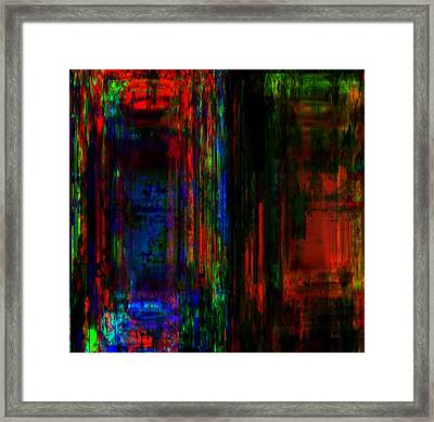 The Obvious Beauty In Diversity  Framed Print by Fania Simon
