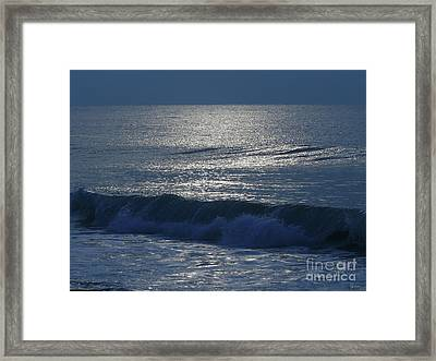 The Ocean Calls Framed Print