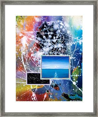The Ocean Dawn Framed Print