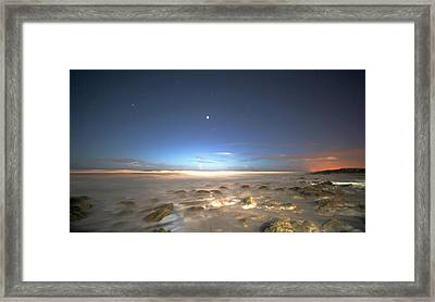 The Ocean Desert Framed Print