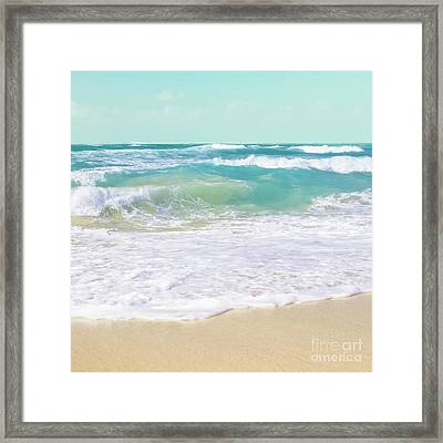 Framed Print featuring the photograph The Ocean by Sharon Mau