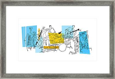 The Octet Framed Print by Sean Hagan