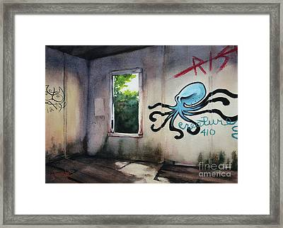 The Octopus's Garden Framed Print
