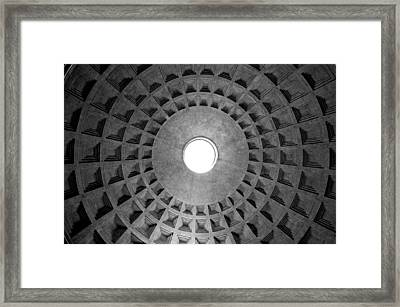 The Oculus Framed Print by Fabrizio Troiani