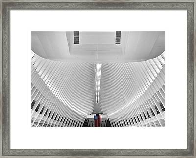 The Oculus Framed Print by Jessica Jenney