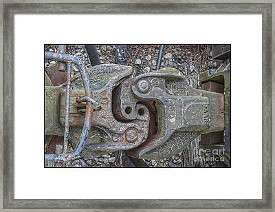 The Odd Coupler On Train Framed Print