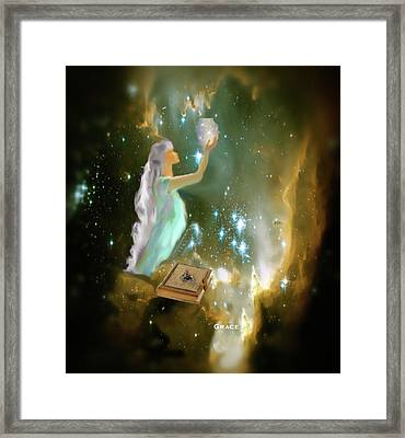 The Offering 1 Framed Print by Julie Grace