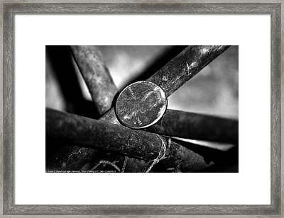 ''the Offering #2'', Sat--11apr2015 Framed Print by Robert 'Standing Eagle'