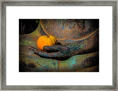 The Offering Framed Print by Garry Gay