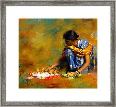 The Offerings Framed Print by Stephen Lucas
