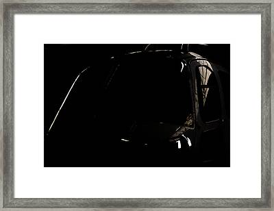 The Office Reflection Framed Print by Paul Job