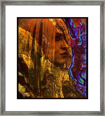 The Offworlder Framed Print by Adam Kissel