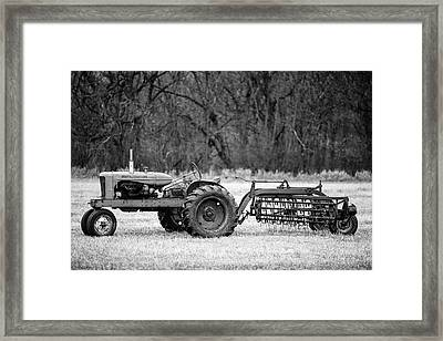 The Ol' Wd Framed Print by Todd Klassy