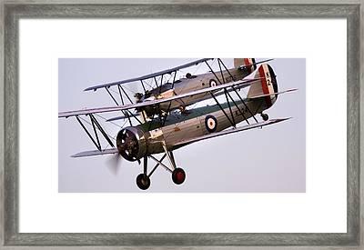 The Old Aircraft Framed Print by Angel  Tarantella