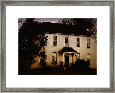 The Old And The Beautiful Framed Print by Kristie  Bonnewell