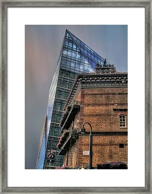 The Old And The New Framed Print by Jim Hill