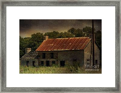 The Old Barn Framed Print by Jill Smith