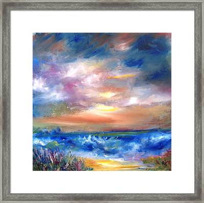 The Old Beach Road Framed Print by Patricia Taylor