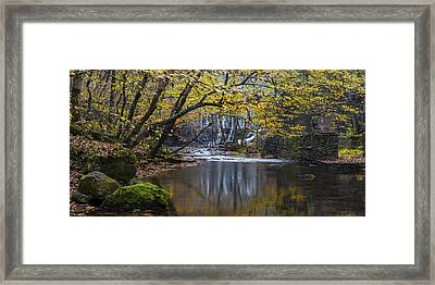 The Old Blanchard Mill Framed Print