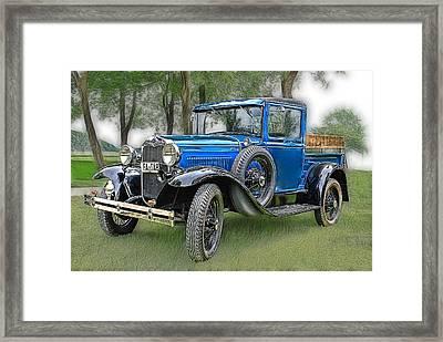 The Old Blue One 2 Framed Print by Joachim G Pinkawa