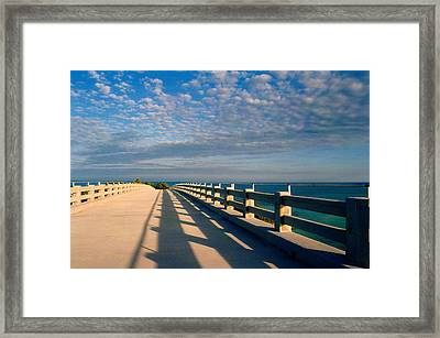 The Old Bridge Framed Print