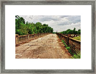 The Old Bridge To Nowhere Framed Print by Frank Feliciano