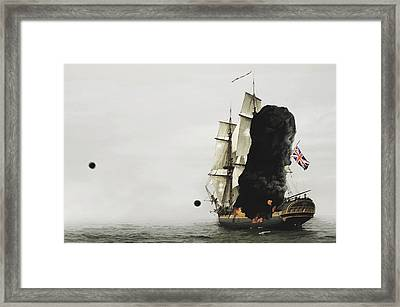 The Old Brit Framed Print by Tyler Martin