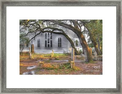 The Old Burying Ground Framed Print
