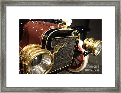 The Old Cadillac Framed Print by Wingsdomain Art and Photography