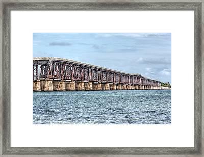 The Old Camelback Bridge Framed Print