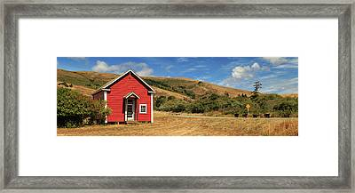 The Old Capetown School House Framed Print