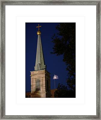 The Old Cathedral - St. Louis Framed Print